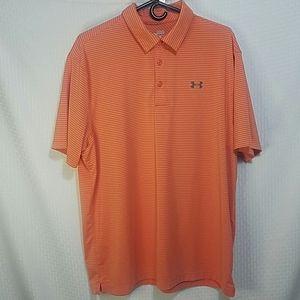 Mens Under Armour  Golf Shirt Size XL